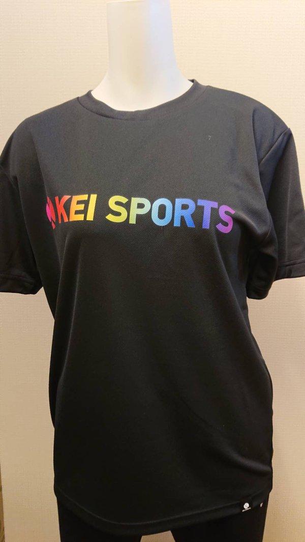 画像1: 【KEIスポーツ】レインボーTシャツ (1)