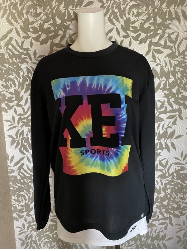 画像1: 【KEIスポーツ】スクエアロングTシャツ (1)