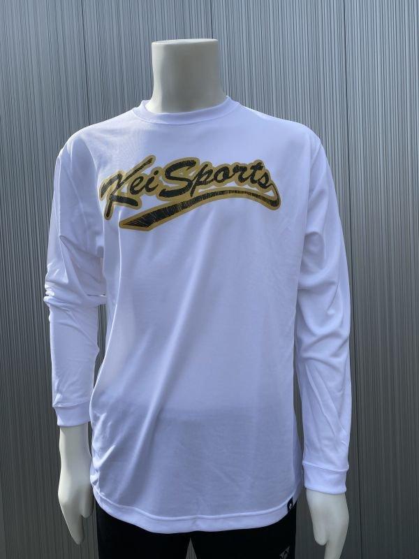 画像1: 【KEIスポーツ】刺繍プリントロングTシャツ (1)