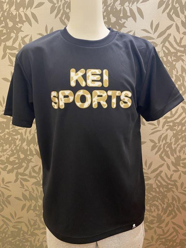 画像1: KEIスポーツ牛柄Tシャツ (1)